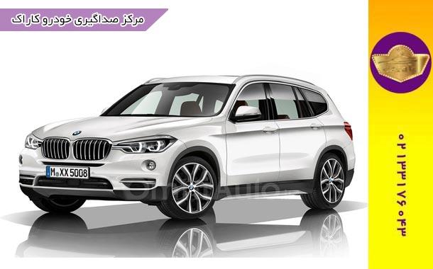 صداگیری BMW x3 | صداگیری بی ام و ایکس 3 | رفع صدا اتاق بی ام و