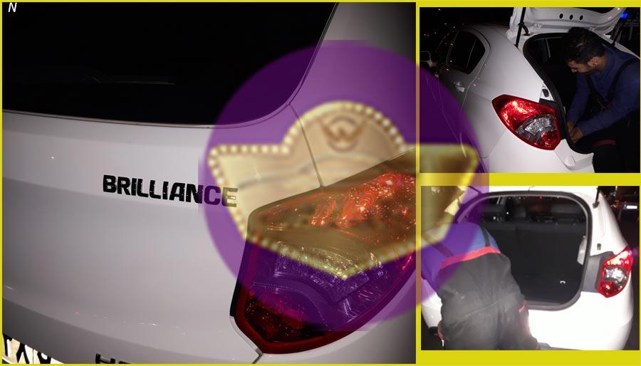 صداگیری خودرو برلیانس H220