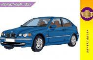 صداگیری BMW 318 | صداگیری بی ام و ایکس اتاق 3 | رفع صدا اتاق بی ام و 318