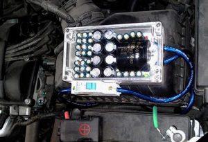 خازن تقویت کننده برق خودرو