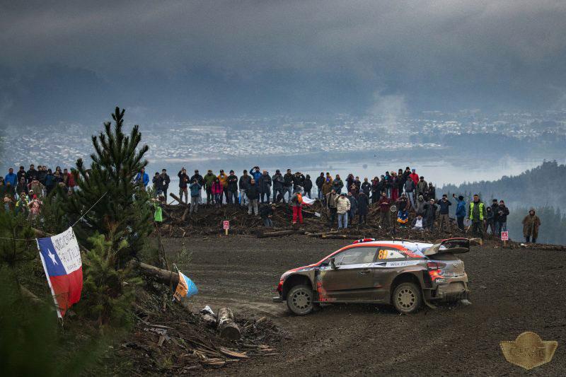 تصویر مسابقات رالی شیلی